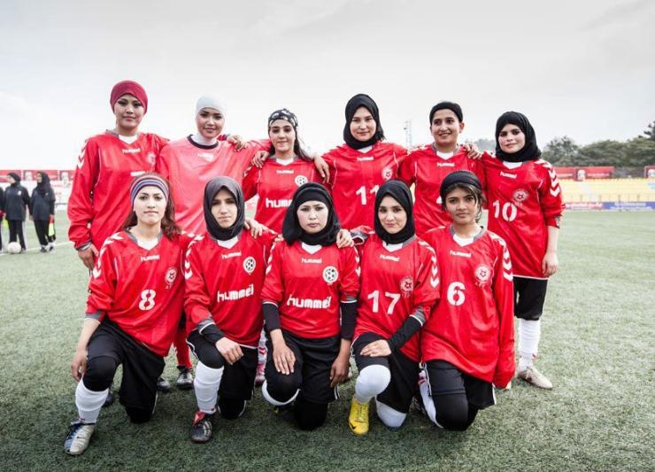 Afghan Women's Soccer Team (2)